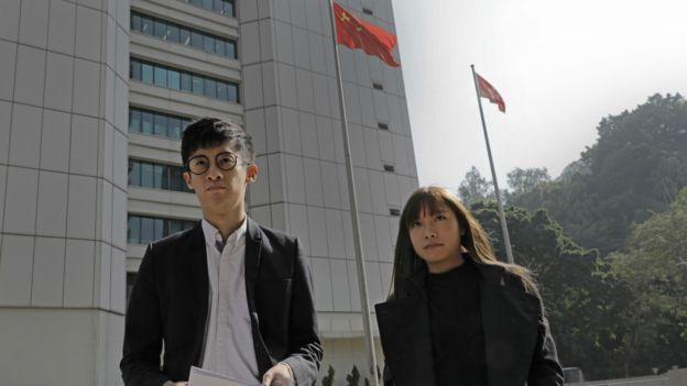 游蕙祯(左)与梁颂恒(右)此前表明将上诉到底。