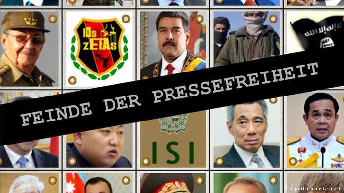 """德国之声 新闻自由公敌 习近平再度""""上榜"""""""