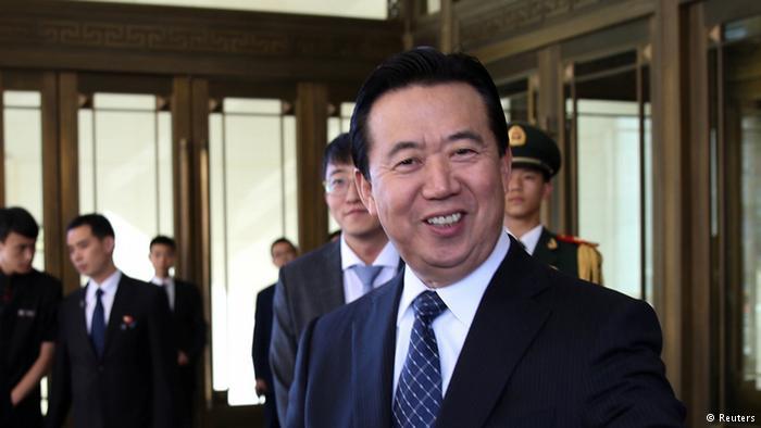 中国公安部副部长孟宏伟当选国际刑警组织新主席