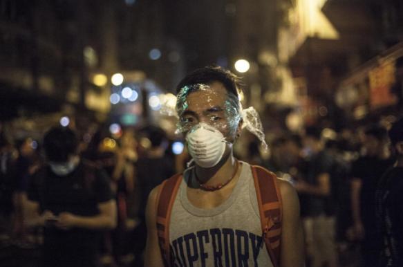 报导者 | 香港不平静的释法夜晚