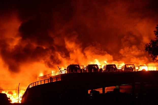 自由亚洲|天津港爆炸事故案 49名责任人获刑 要犯被判死缓