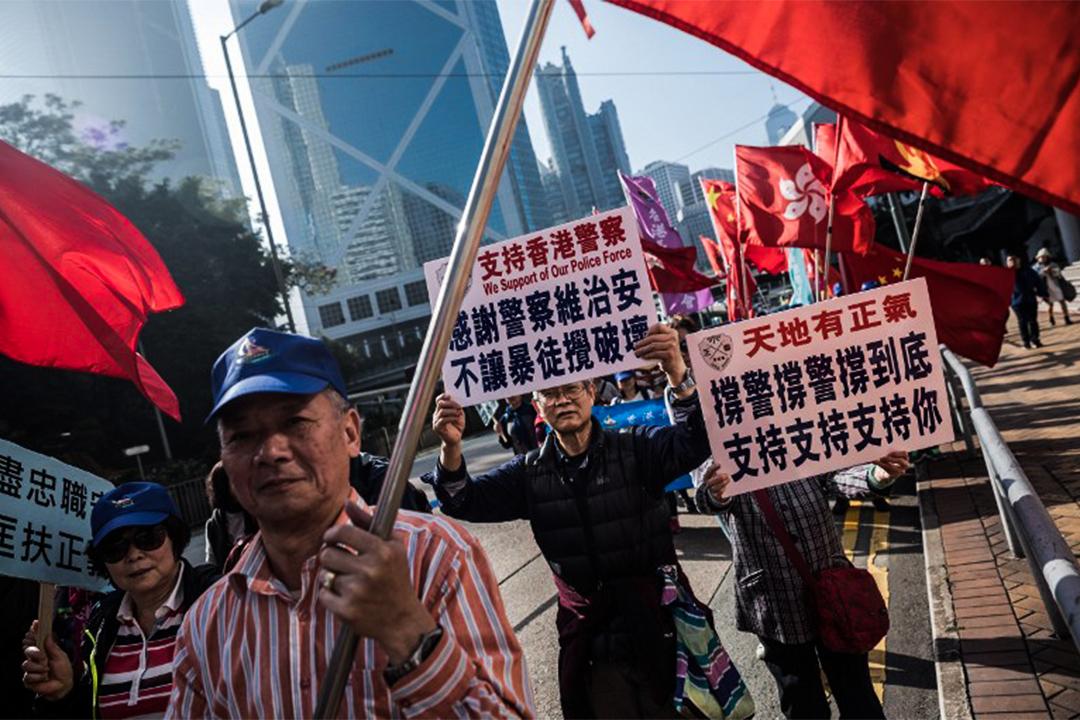 端传媒|七警案:中国舆论舞剑,意在香港司法?