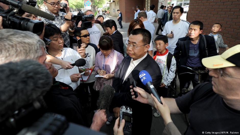 """德国之声 江天勇""""自认其罪"""" 辩护律师谴责环球时报"""