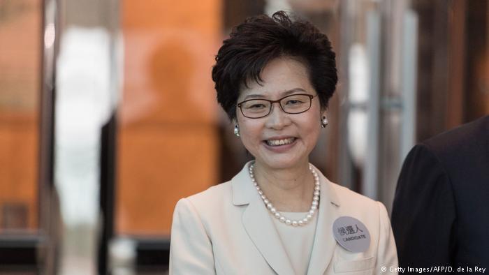德国之声 | 林郑月娥胜出 香港迎来第一位女特首