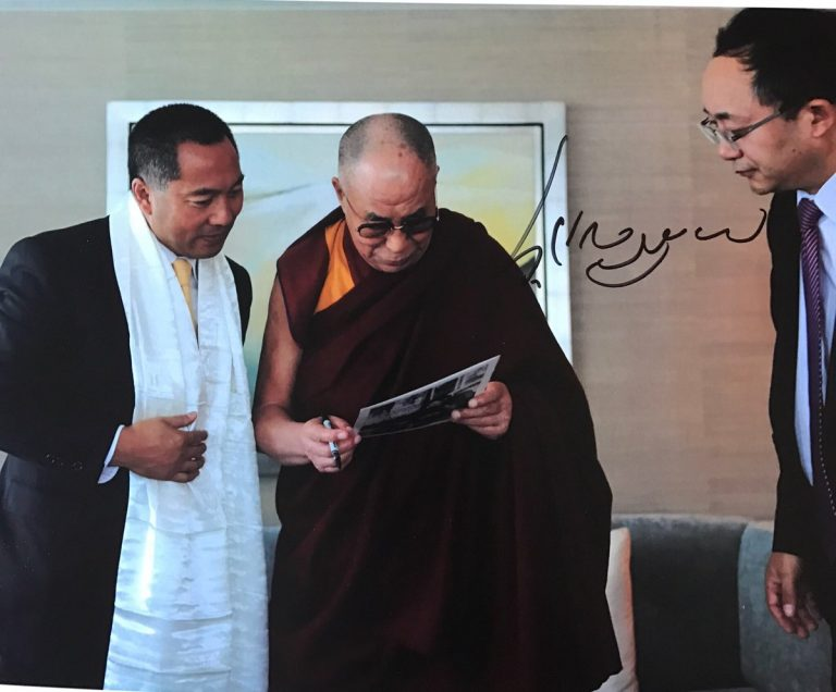 """西藏之声   富商郭文贵:""""受国家最高领导人委托与达赖喇嘛见面"""""""