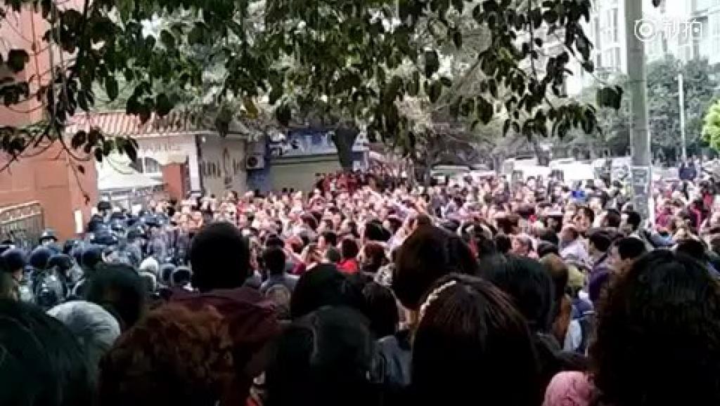 新华网 | 记者泸县采访被干扰 到了无法忍受的地步