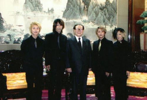 果酱音乐 | 江泽民曾接见日本乐队GLAY 视觉系发型获长者称赞
