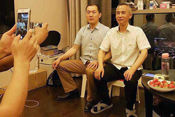 美国之音 | 北京人权律师李和平获释回家