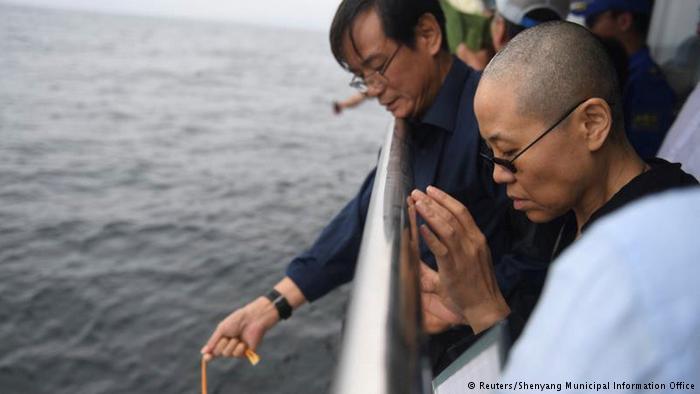 自由亚洲|参与刘晓波海祭再有一人被捕 传刘霞与当局协商出国