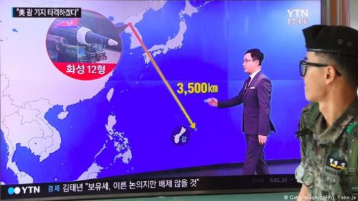 德国之声 | 媒体:朝鲜危机,现在什么最重要?