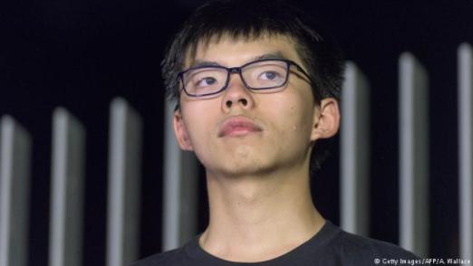 德国之声 | 专访黄之锋父亲:看到香港司法的不公义