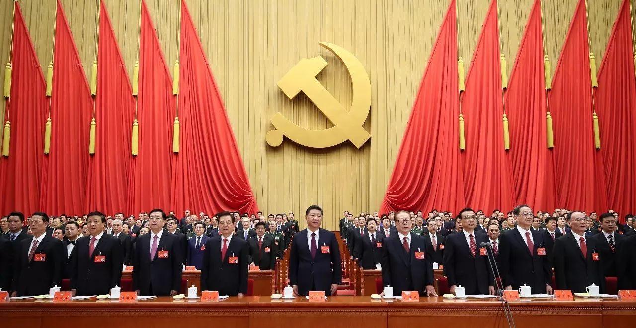 新华社 | 中共新一届中央政治局常委亮相
