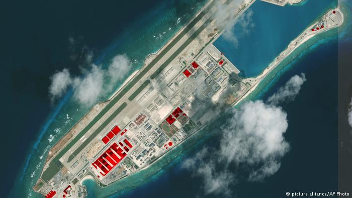 德国之声   中国在南海继续岛礁扩建工程