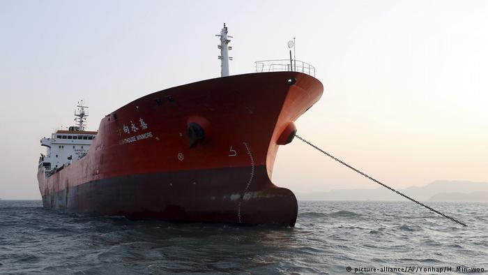德国之声   韩国称抓获香港船只对朝输油 北京否认违规