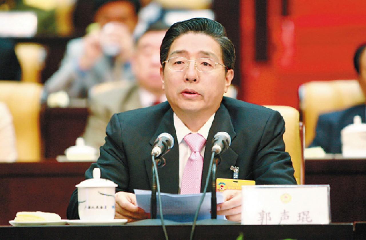 香港01 | 政法委书记郭声琨:坚决抵制三权鼎立、司法独立