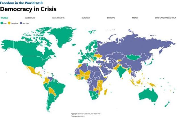 【国际华闻】公民社会自由度:中国再添劣迹