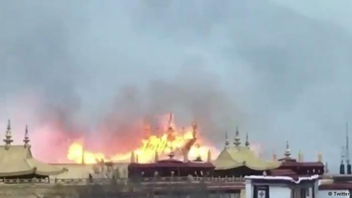 德国之声 | 拉萨大昭寺失火  网管大年初二忙删贴?