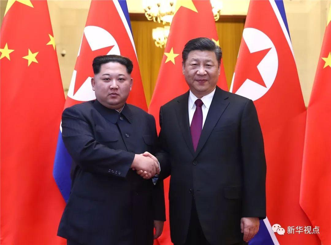 新华社 | 习近平同金正恩举行会谈