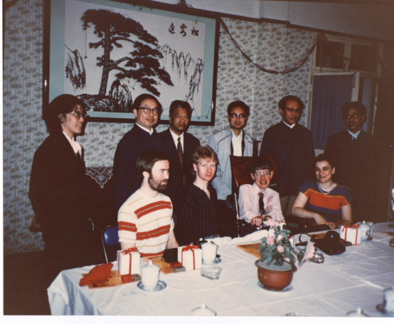 【旧闻】CND 刊物和论坛 | 方励之:霍金第一次访华