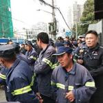 阶级与哲学   上海发生近年来中国环卫工人最大规模罢工