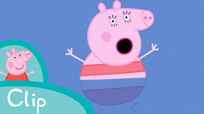 长平观察:小猪佩奇也是一匹草泥马