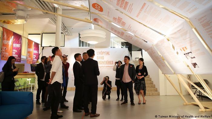 德国之声 | 台湾WHA宣达团与中国游客起口角