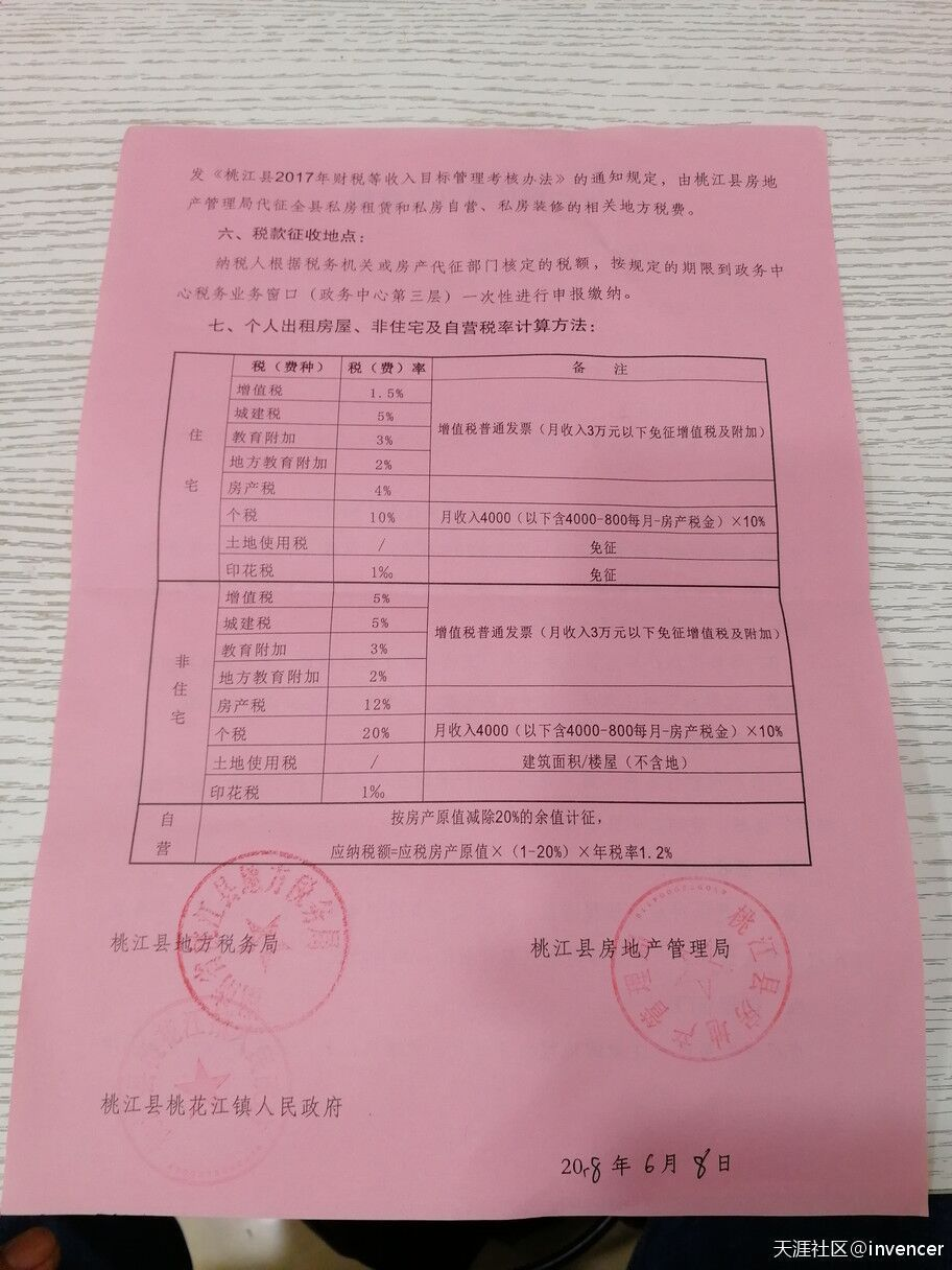 【图说天朝】湖南某地房产税征收宣传资料