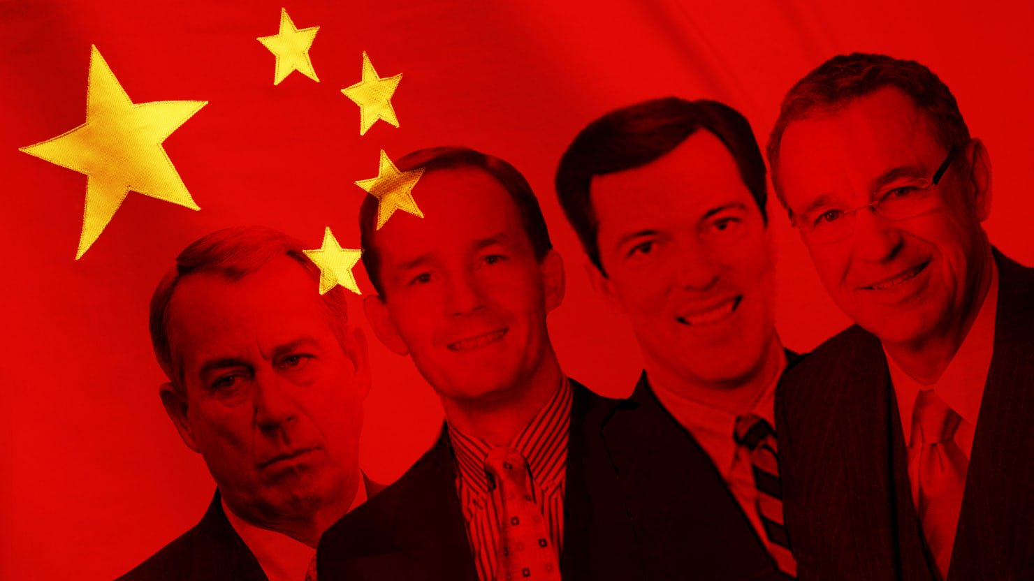 《每日野兽》起底带路党:这些前美国官员现在为中国游说