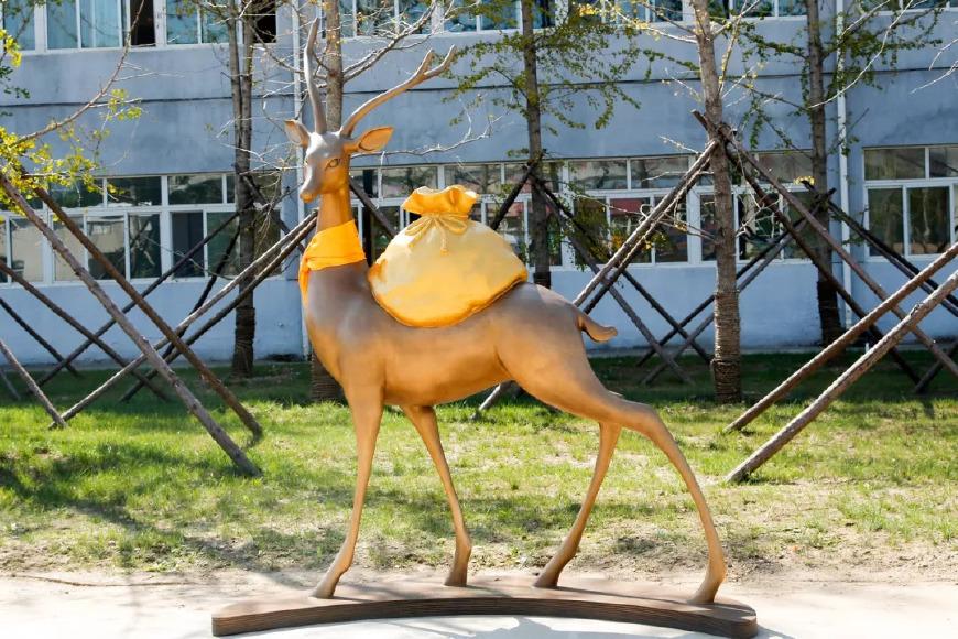 """【图说天朝】""""一袋一鹿""""带来撒币带来财富"""