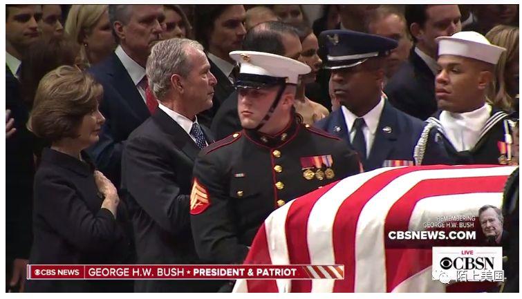 陌上美国 | 前总统小布什给父亲老布什总统的悼词