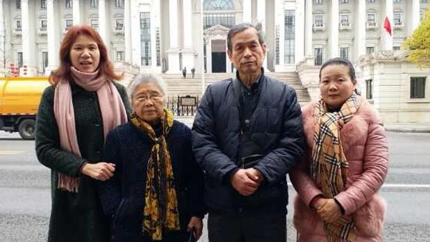 自由亚洲 |黄琦母亲再被警察困守家中