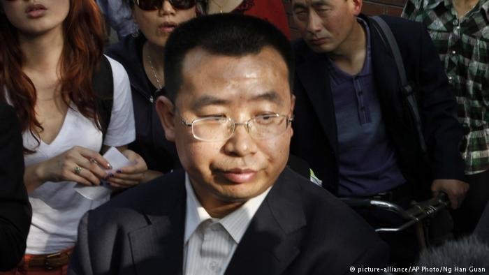 德国之声|维权律师江天勇刑满出狱被不明身份者带走