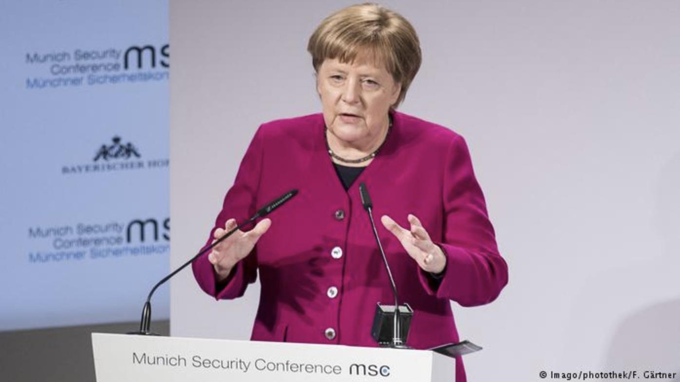 德国之声 | 默克尔吁中国加入裁军协议 北京不以为然