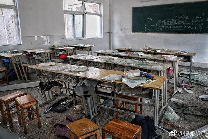 【立此存照】中国速度:盐城爆炸周边学校周一复课