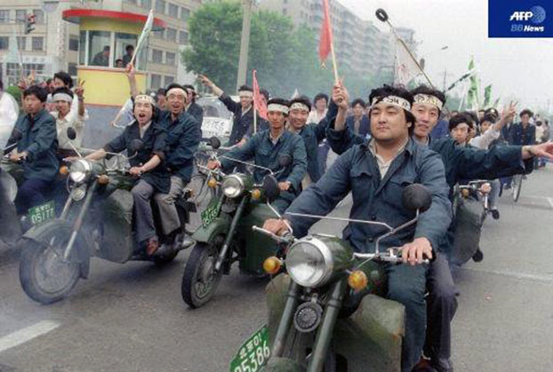 自由亚洲 | 我的六四:飞虎队、医院的尸臭味和检举揭发