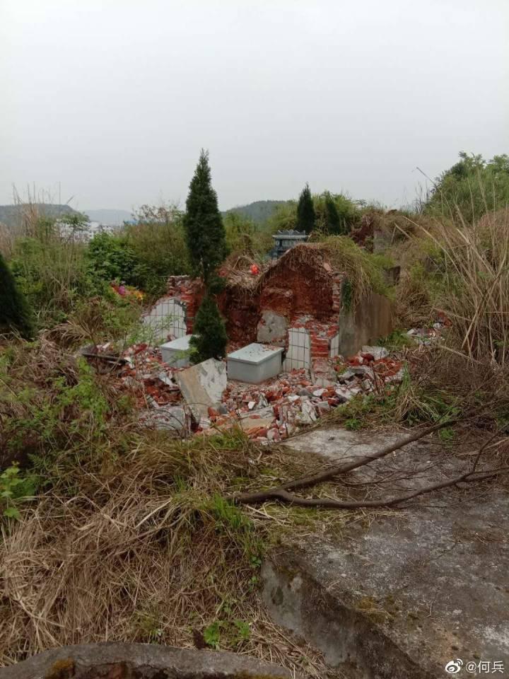 何兵 | 中央党校教授喊冤:去年抢棺材,今年铲墓碑