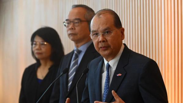 法广 | 香港政务司长就警方处理元朗袭击事件道歉