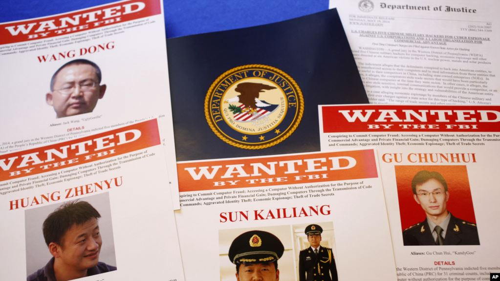 美国之音 | 路透社:中国黑客侵入世界8家主要电脑服务公司