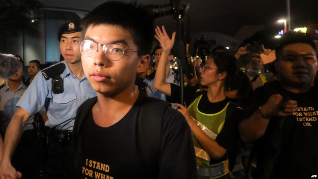 美国之音 | 专访黄之锋:我并不主张香港独立