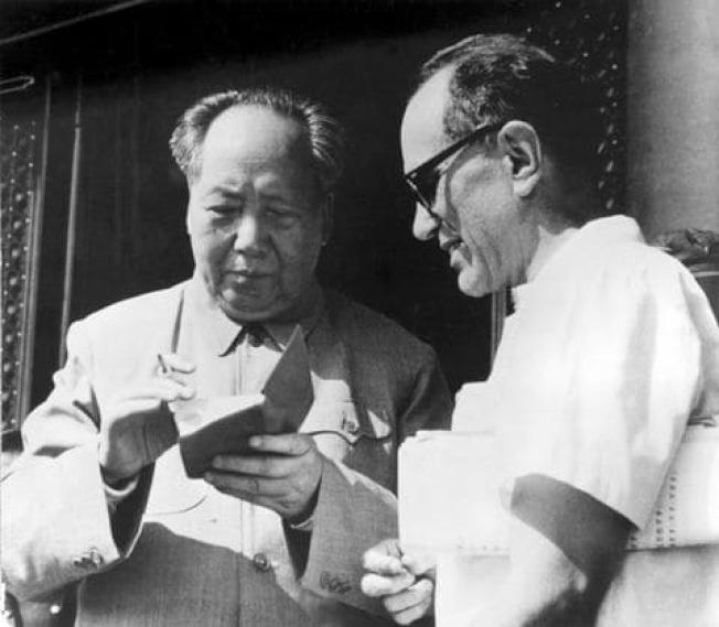 世界日报 | 首位加入中国共党的美国人李敦白去世