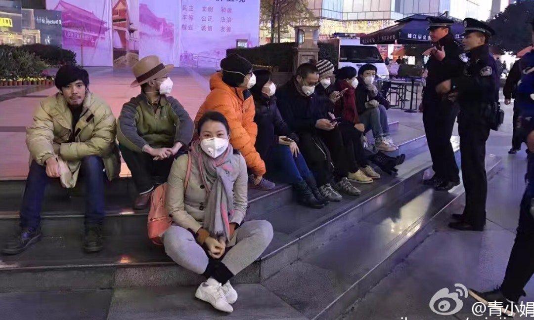 关键评论 | 成都雾霾太严重市民抗议!