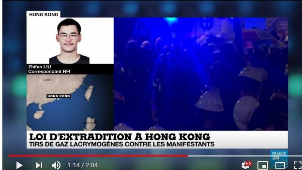 法广 WhatsApp举报热线被Facebook关闭,香港警察遭网民嘲讽