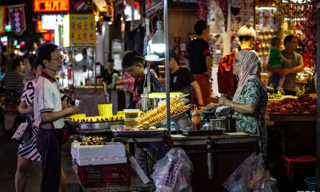 Photo: Muslim Quarter of Xi'an, by mzagerp