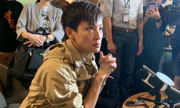 沃草 | 何韵诗:中国将白色恐怖渗透全世界吁台湾人参加929撑港游行
