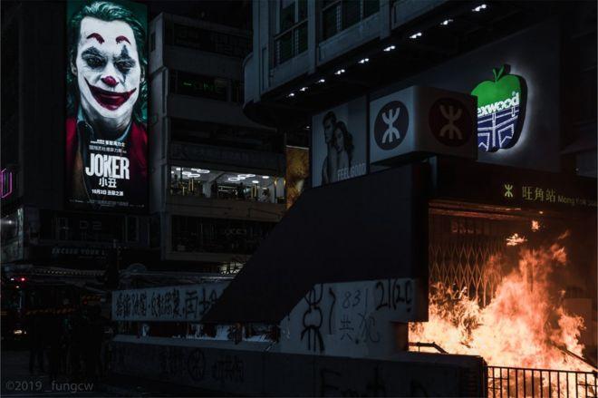 BBC  |《小丑》电影为何在香港引发共鸣