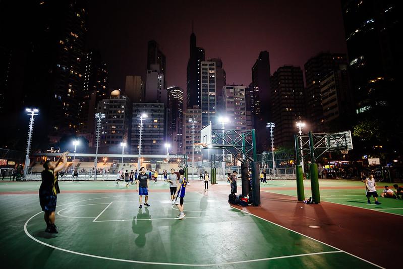 Photo: Basketball [Hong Kong], by Robert Anders