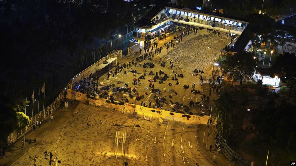 美国之音 | CECC两主席就香港暴力升级发表声明 警告北京加大压制可能会有代价