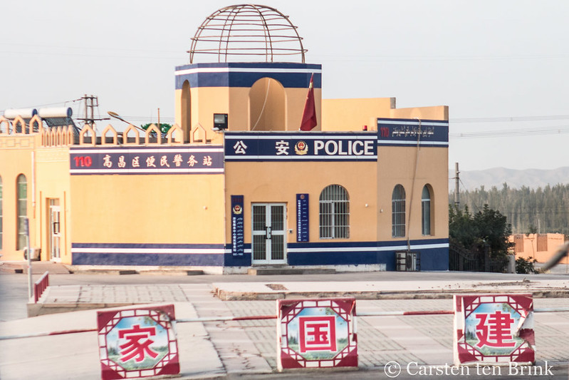 Photo: Turfan – not a mosque, despite the architecture, by Carsten ten Brink
