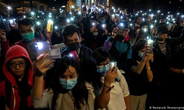 德国之声 | 国际人权日:不放弃的香港青年示威者