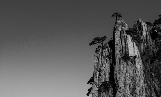 Photo: Yellow Mountain, China, by Lei Han